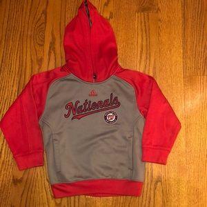 ❤️ Adidas Washington Nationals Sweatshirt